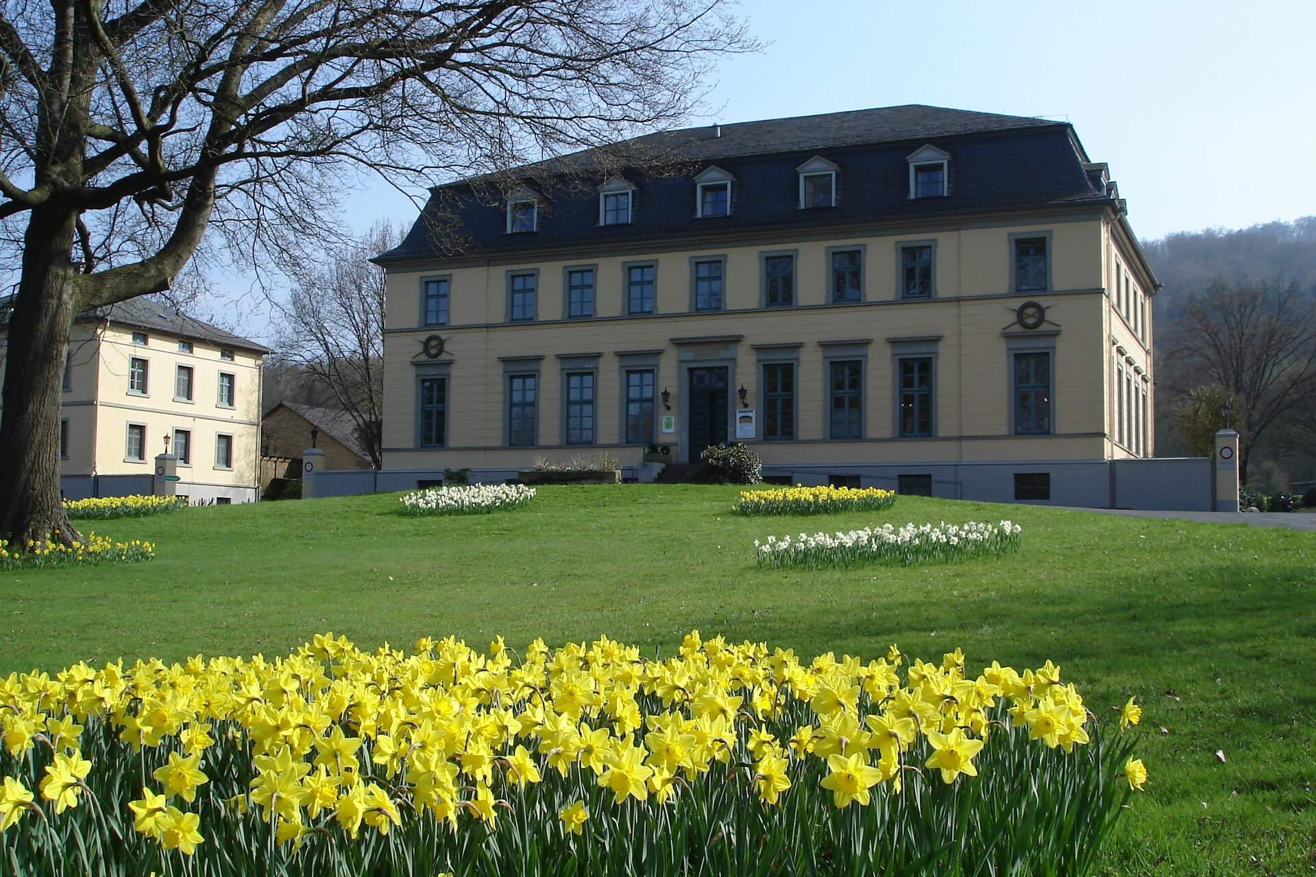Jagdschloss Frühling ©Stadt Springe