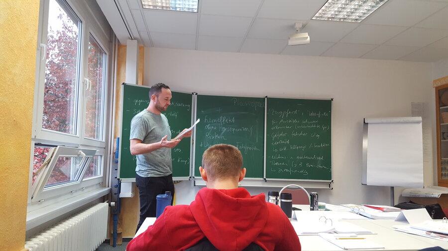 Präsentieren lernen beim AdA Kurs