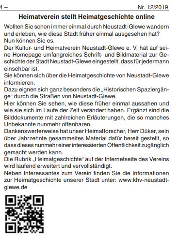 12/2019, Neustädter Anzeiger