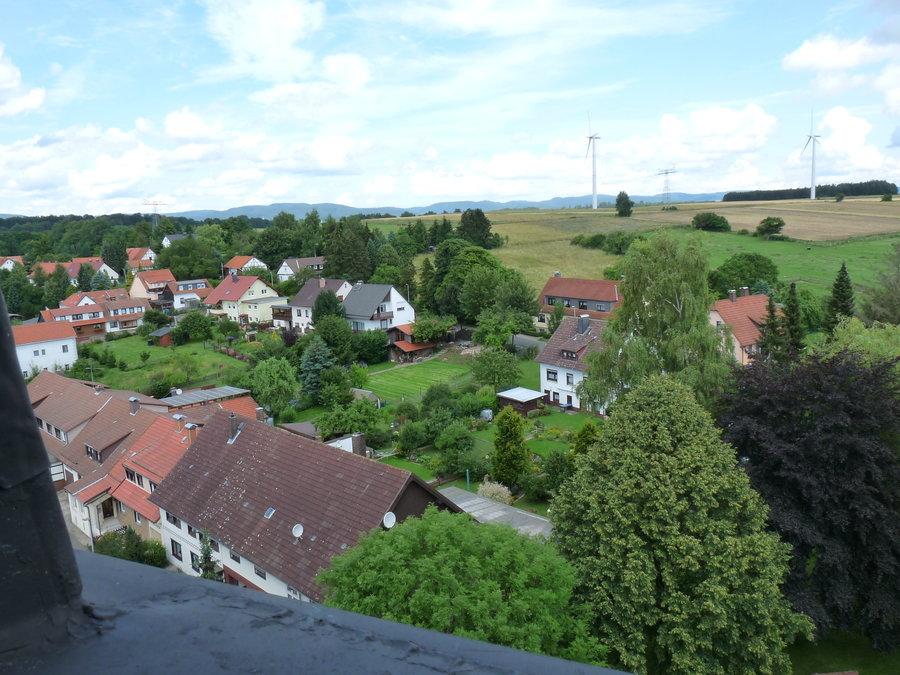 Dorf von oben (Nord-Ost)