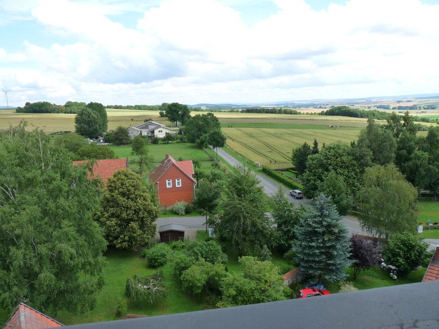 Dorf von oben (Ost)