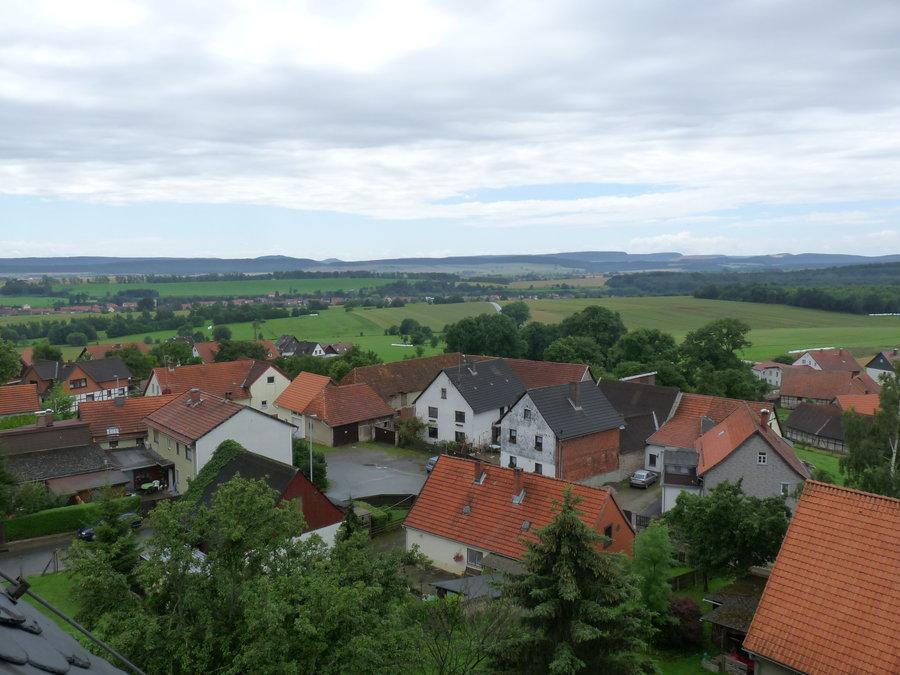 Dorf von oben (Süd)