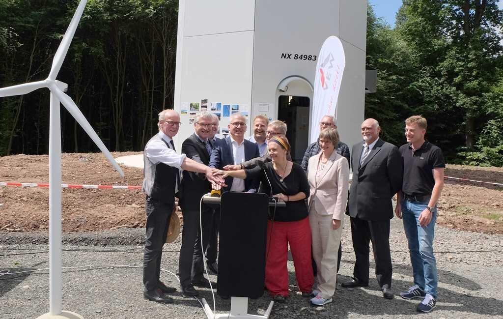 Eröffnung Windpark