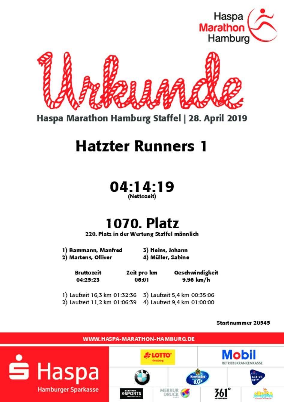 Runner_1_Urkunde