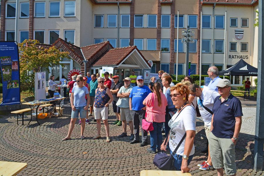 Vereinswettbewerb Kick-Off Event Stadtradeln am 18.08.2018 Foto: Lena Brunn