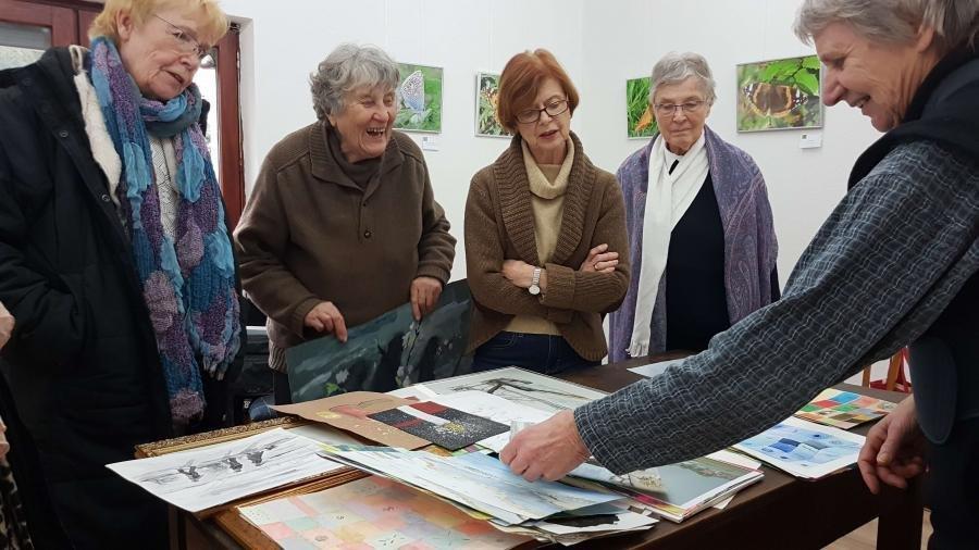 Foto: Cordula Malmus - Acht Frauen malen