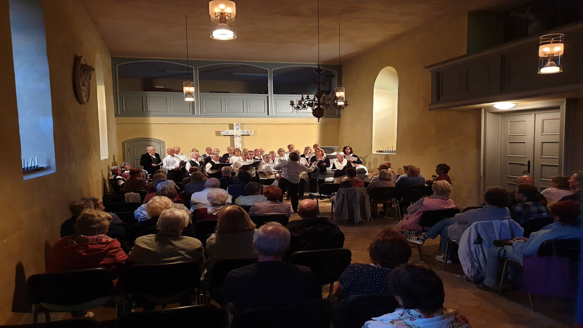 Konzert voller Saal