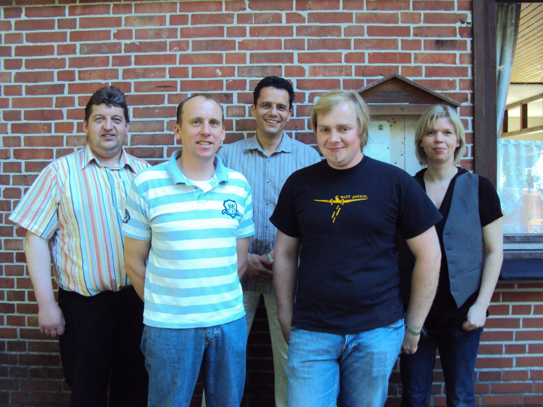 Der Vereinsvorstand am 01.06.2010