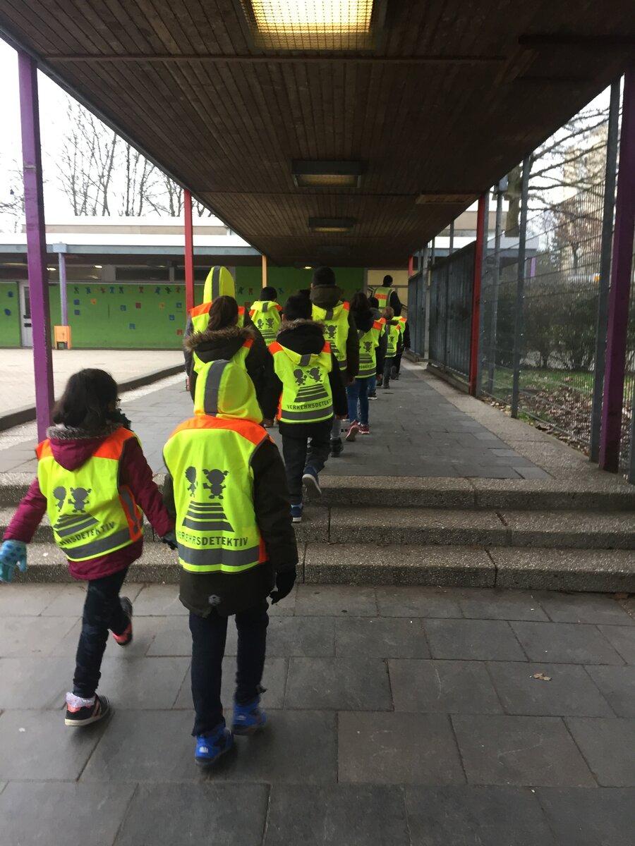 Auf dem Weg zum Schulwegtraining