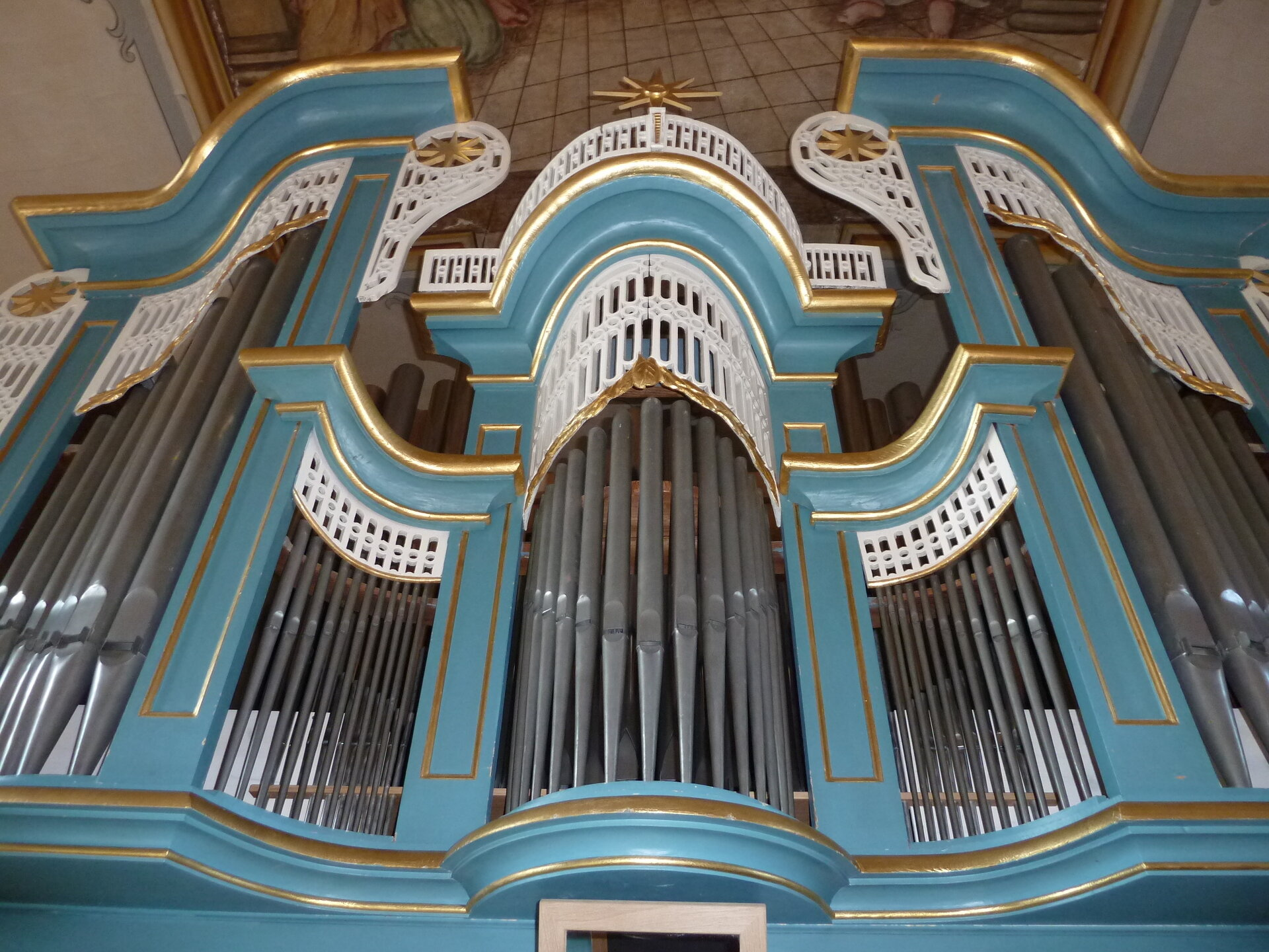 Orgel vorn