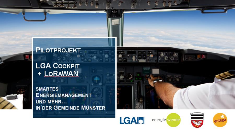 LoRaWAN Pilotprojekt in Zusammenarbeit mit entega AG, Energiewende GmbH