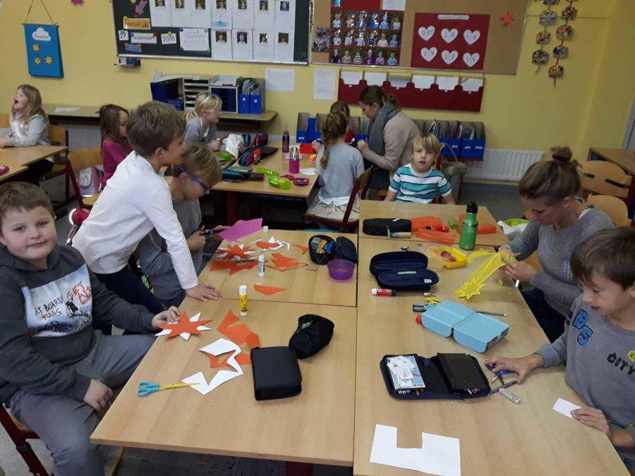 Grundschule Glucksburg Adventsbasteln