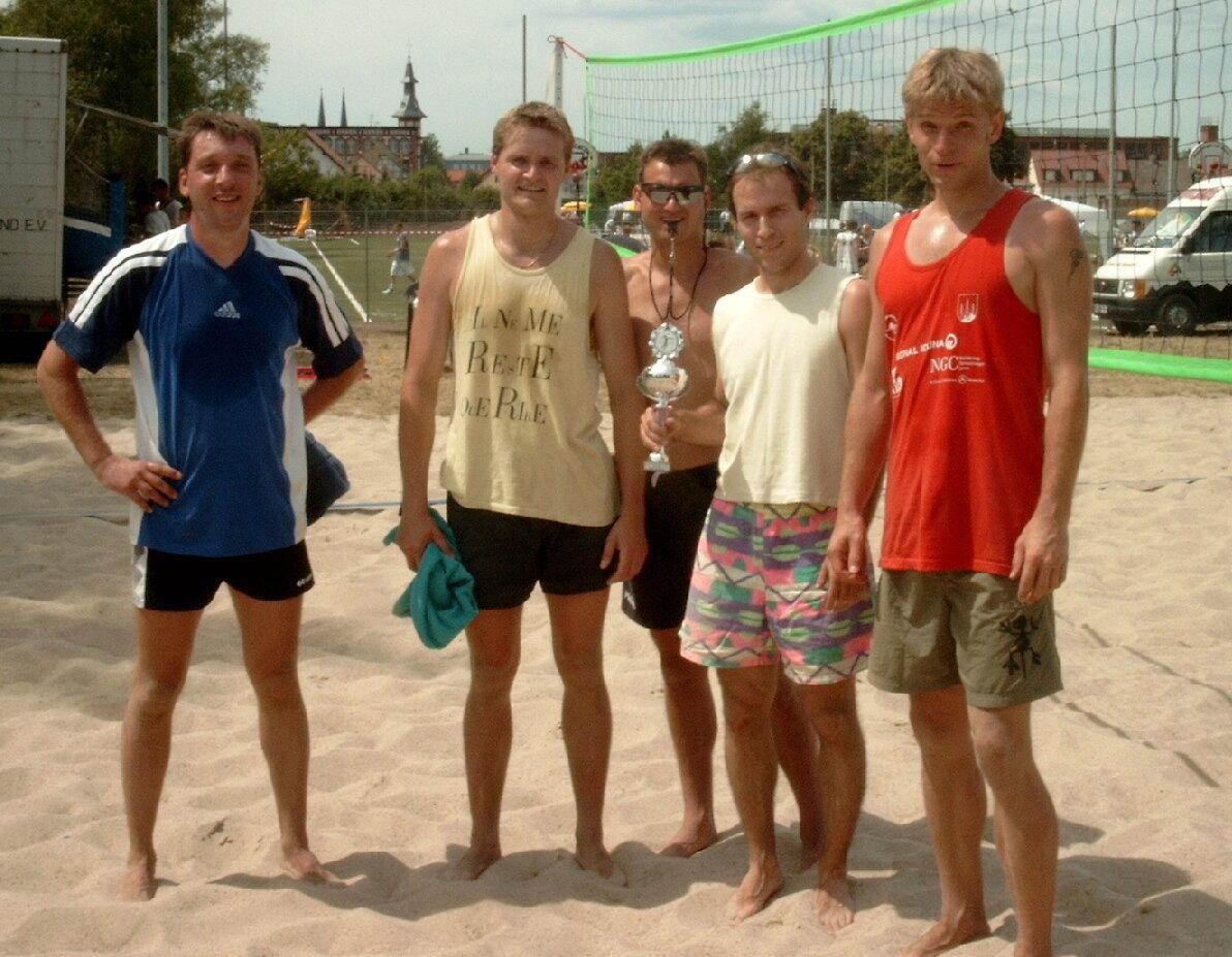 Beach-Showspiel am Sachsen-Anhalt-Tag in Burg (28.06.2003)