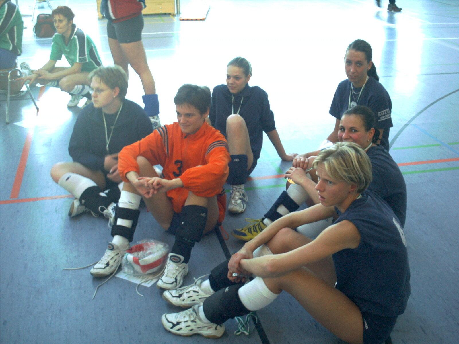 Finalspieltag der LOL Damen in Dessau (17.03.2002)