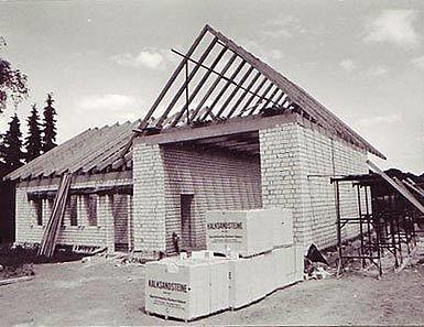 Bau des Feuerwehrgerätehaus