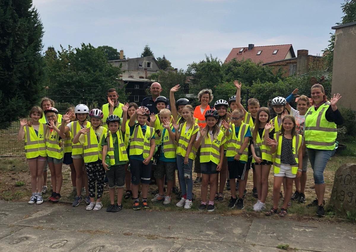 Wir haben die Fahrradprüfung bestanden!