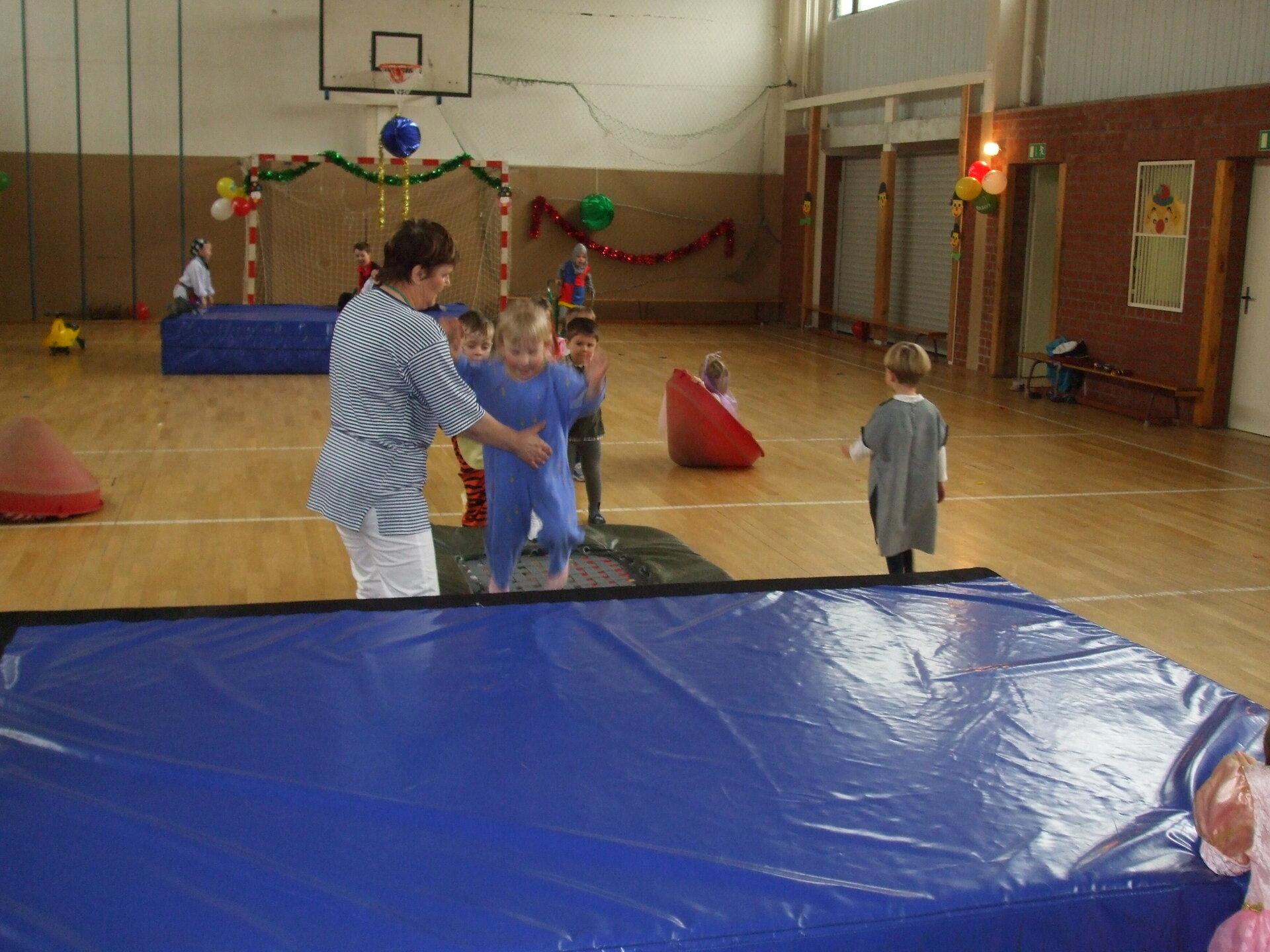 Kinderfasching TSV und KITA 2008