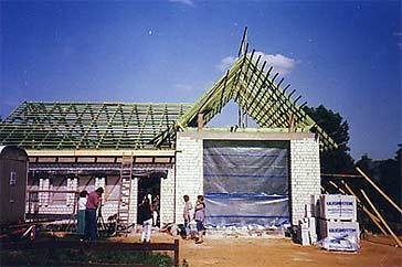 1992 Bau des Feuerwehrgerätehauses an der Dorfstrasse