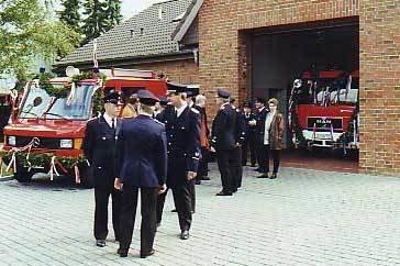 Fahrzeugübergabe 1997