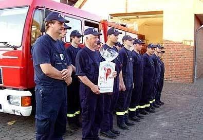 """04.07.2006 """"Roter Hahn"""" erfolgreich bestanden"""