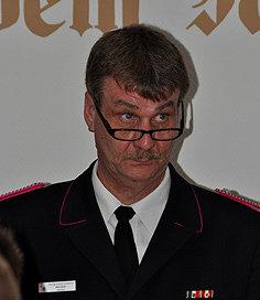 Wehrführer Mike Heller