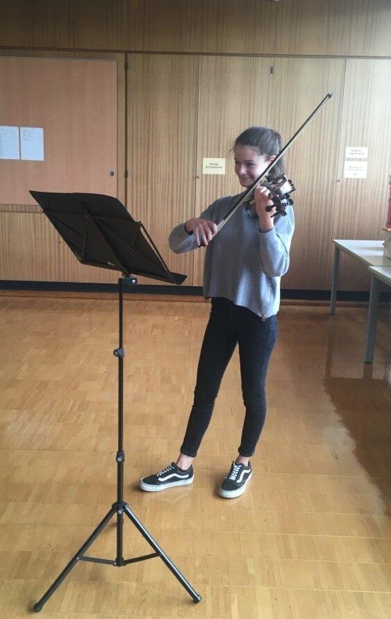 Musiker in der Schule 1