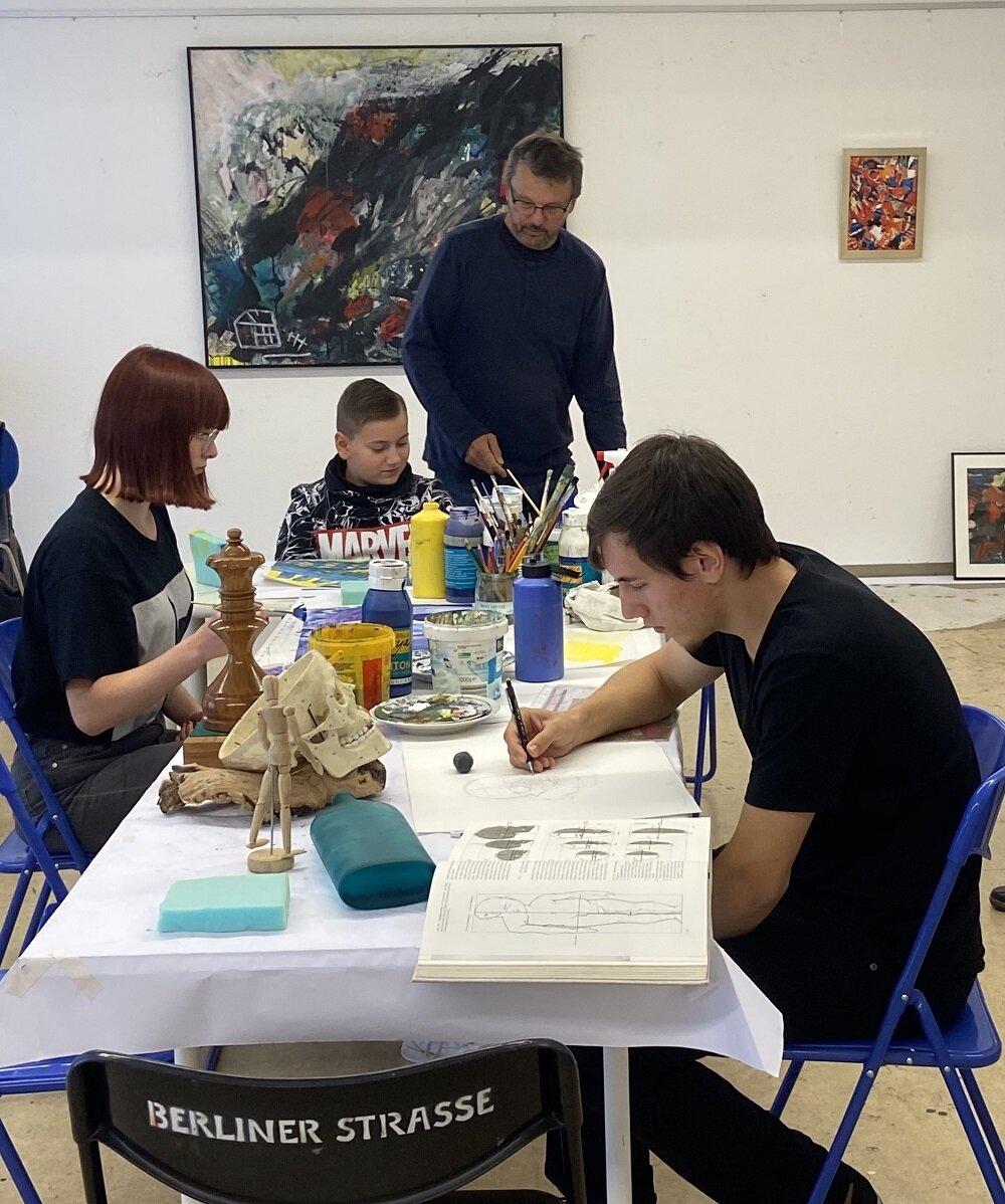 Preisträger beim Workshop