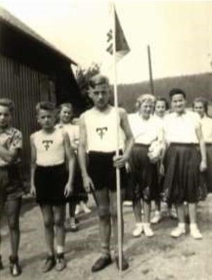 Sportwettkämpfe auf dem Steinberg im Scharzfeld, 1950