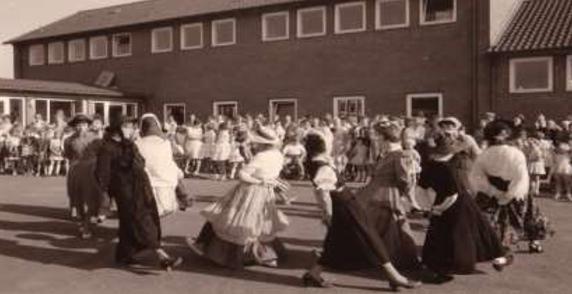 Schulfest Mitte der 1960 Jahre