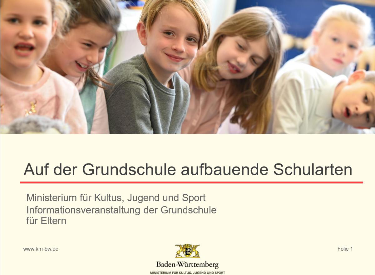 aufbauende Schularten
