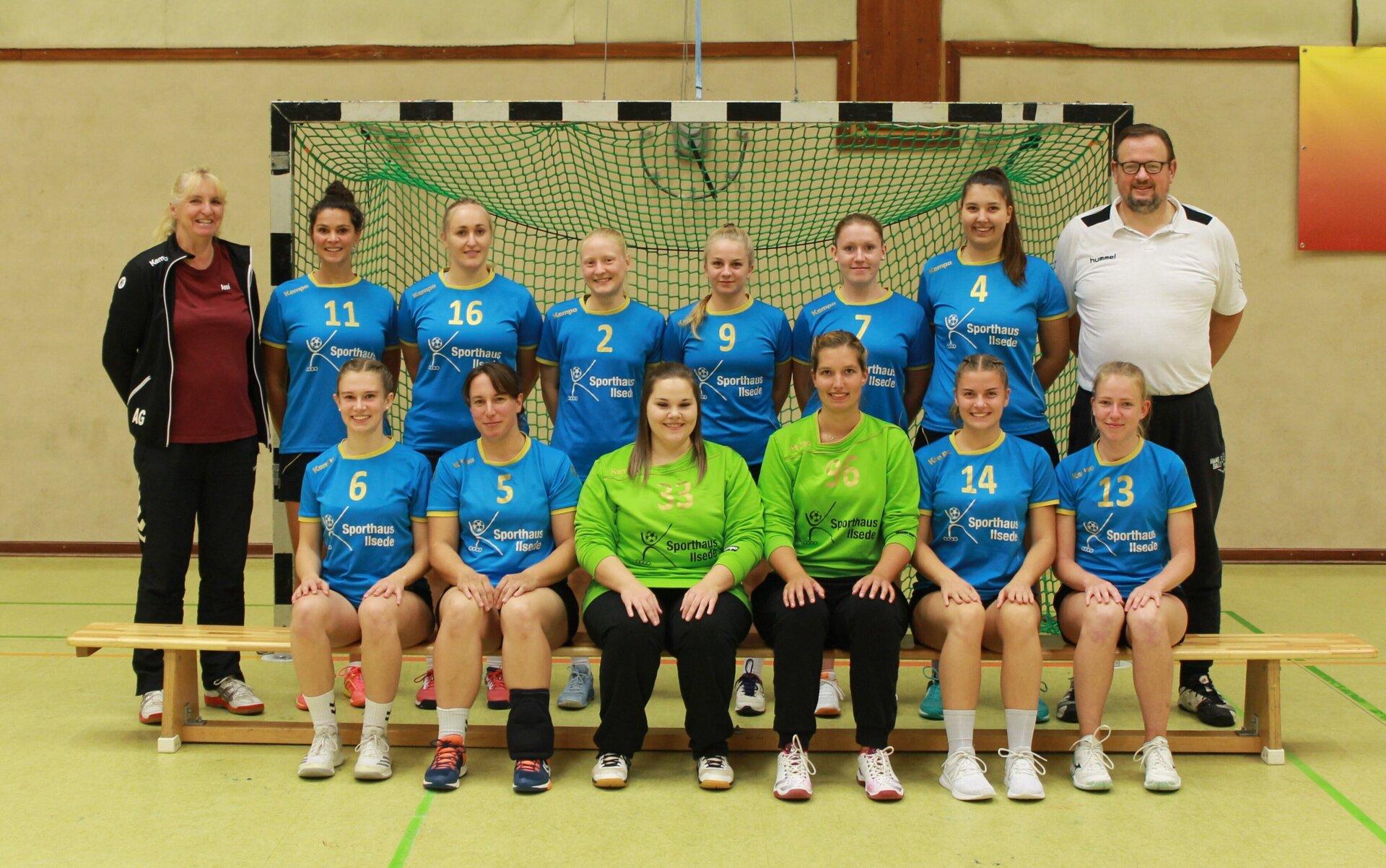 Mannschaftsfoto 1. Damen Saison 2020/2021