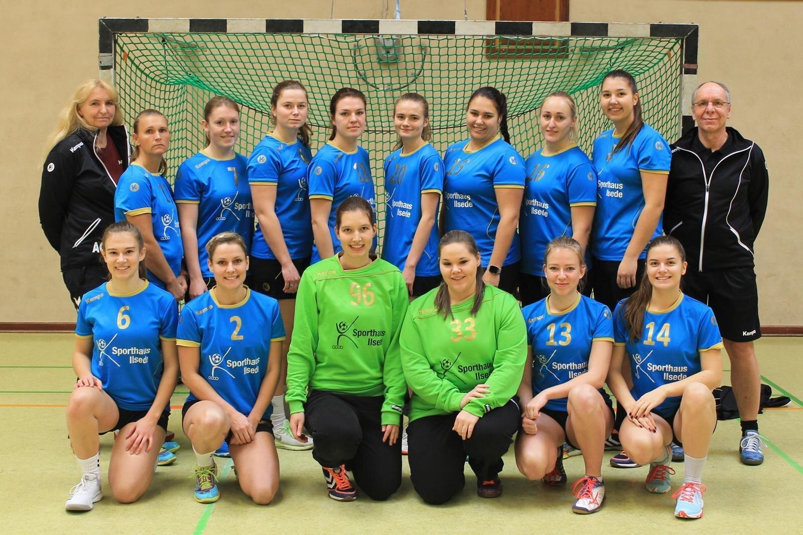 Mannschaftsfoto 1. Damen Saison 2018/2019