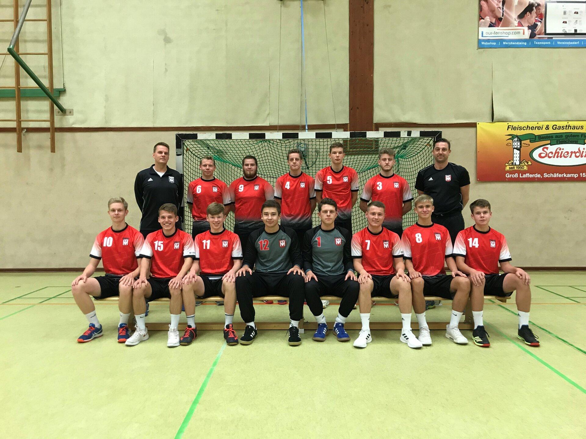 Mannschaftsfoto männliche A-Jugend 2020/2021