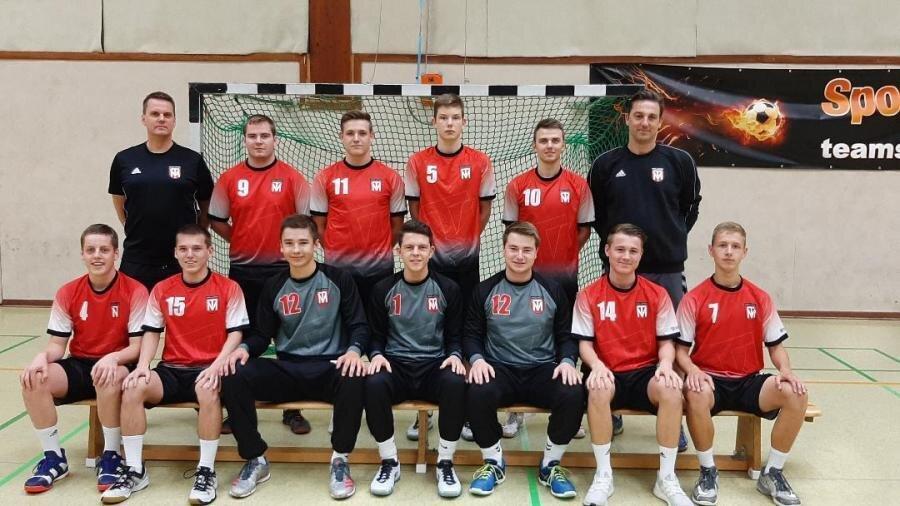 Mannschaftsfoto männliche A-Jugend 2019/2020