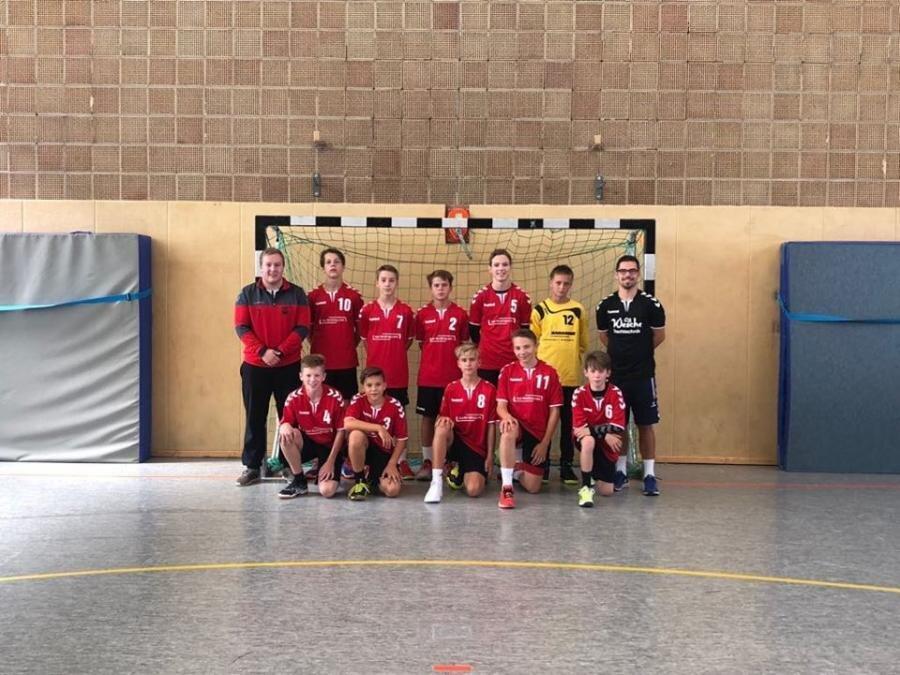 Mannschaftsfoto männliche C-Jugend Saison 2018/2019