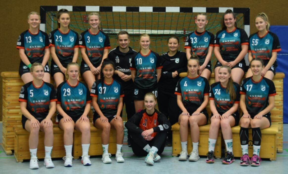 Mannschaftsfoto weibliche A-Jugend Saison 2020/2021