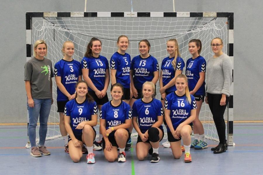 Mannschaftsfoto weibliche A-Jugend Saison 2018/2019
