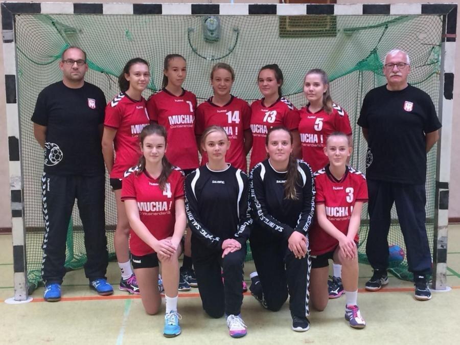 Mannschaftsfoto weibliche B-Jugend Saison 2018/2019