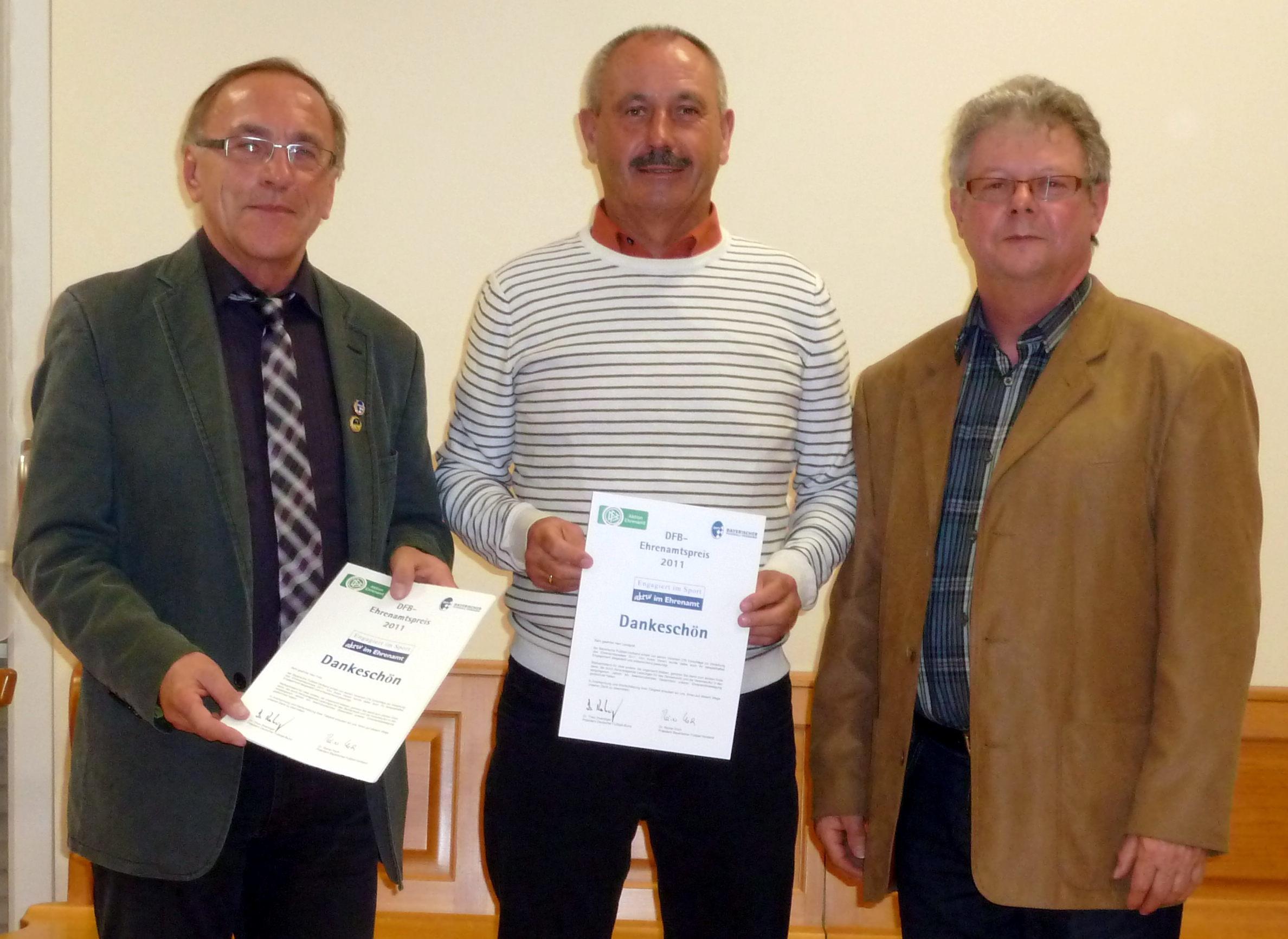 DFB Ehrenamtspreis - Trissl Josef
