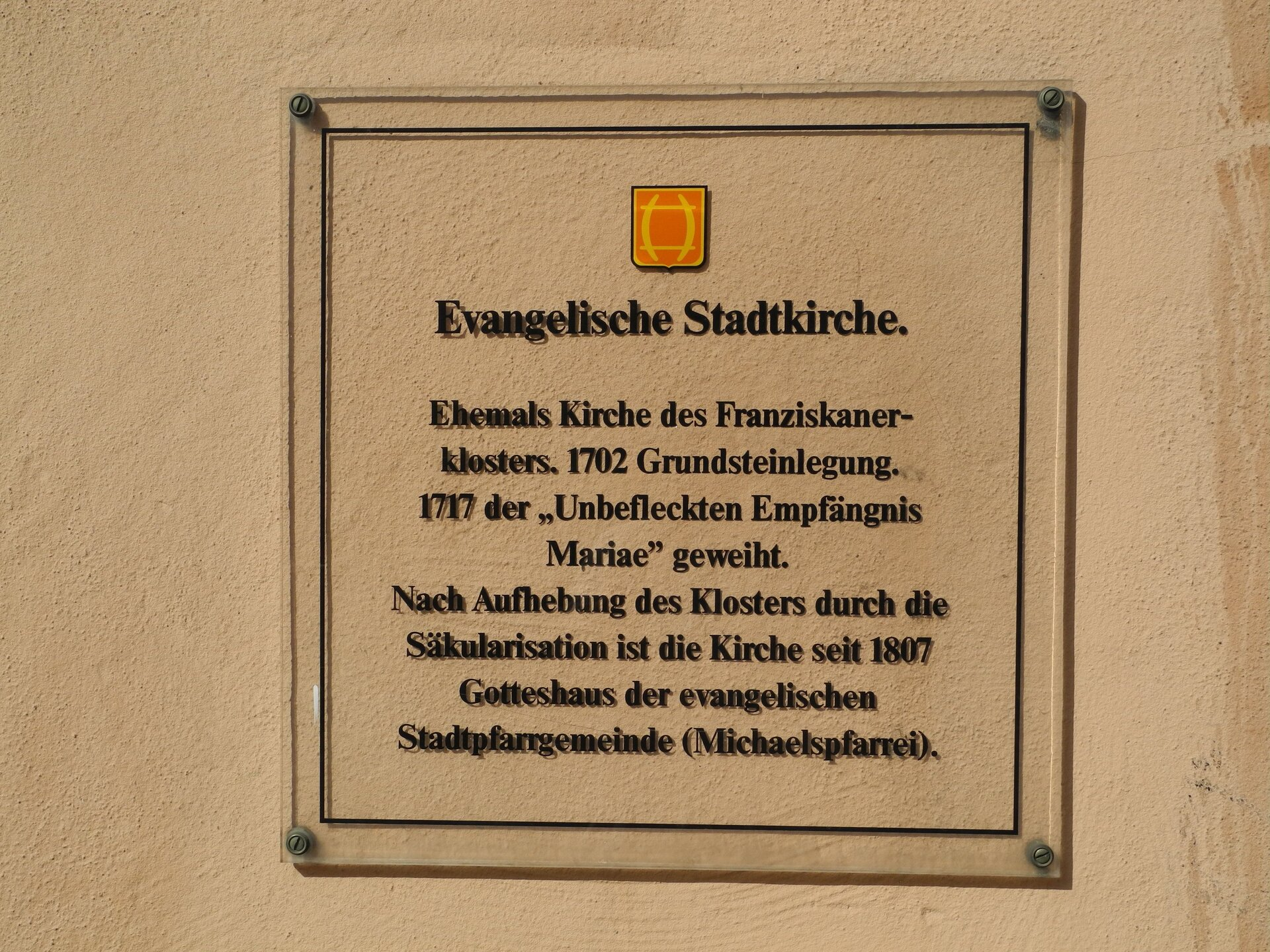 evang Stadtkirche