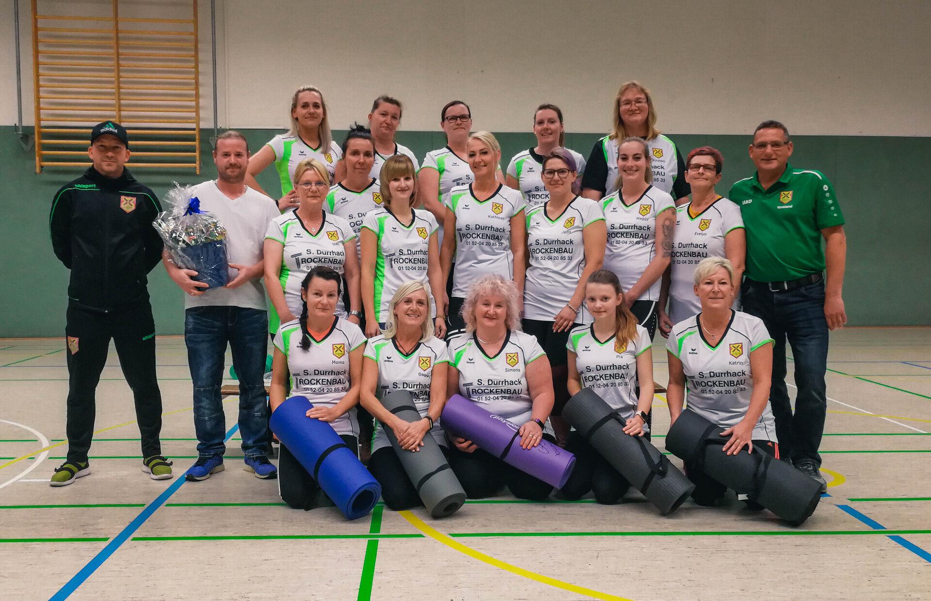 Gymnastikdamen des TSV Grün-Weiß Kleinmühlingen/Zens e.V.