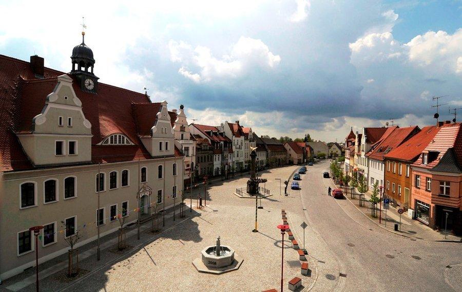 Der Marktplatz in Kirchhain