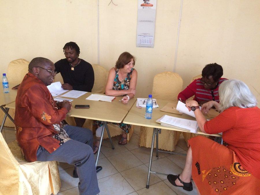 Versammlung von JKW und SfC in Goma