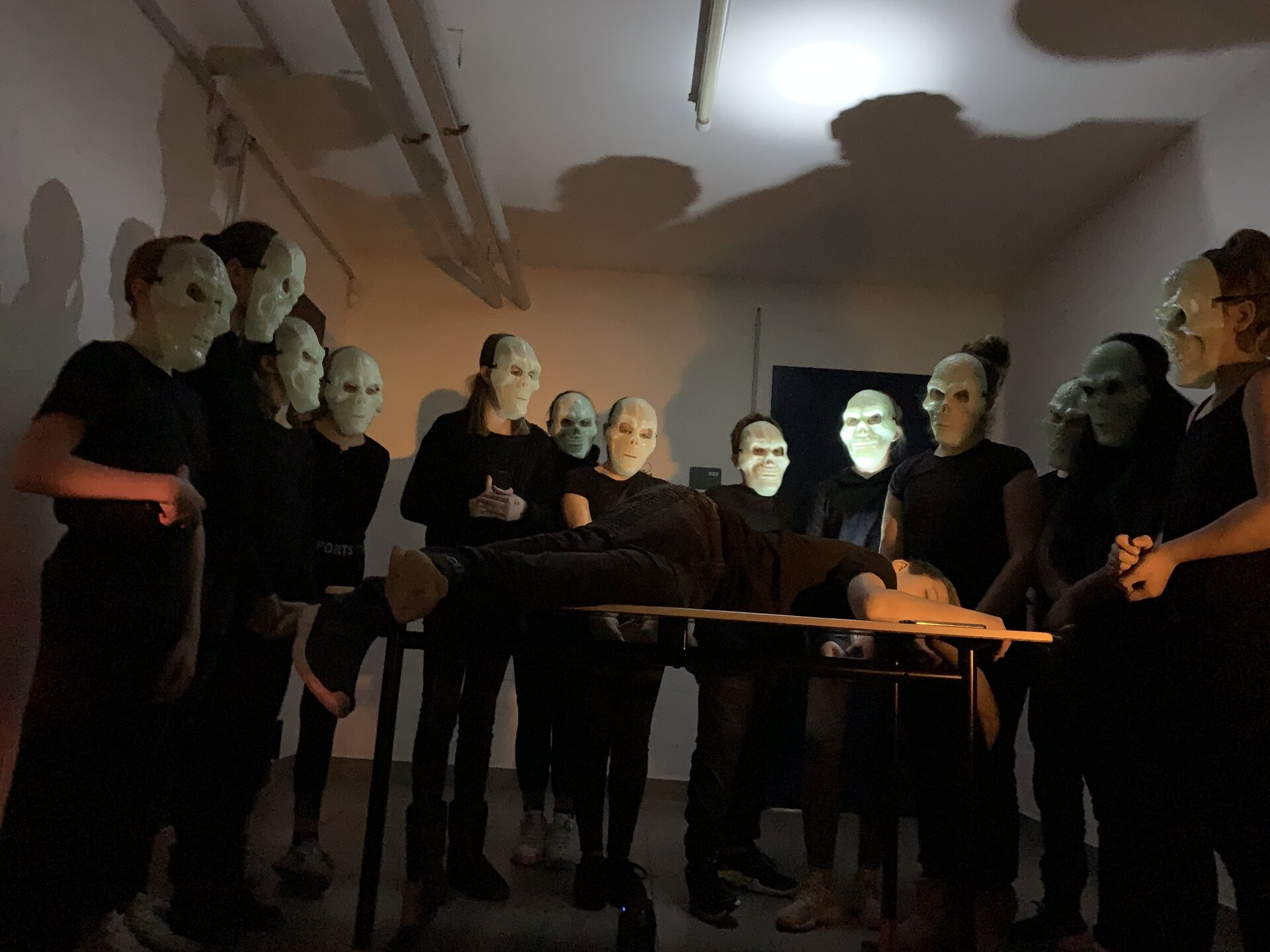 """Szene aus dem Beitrag """"Lasst uns nicht allein"""". Foto: Jodocus-Nünning-Gesamtschule Borken"""