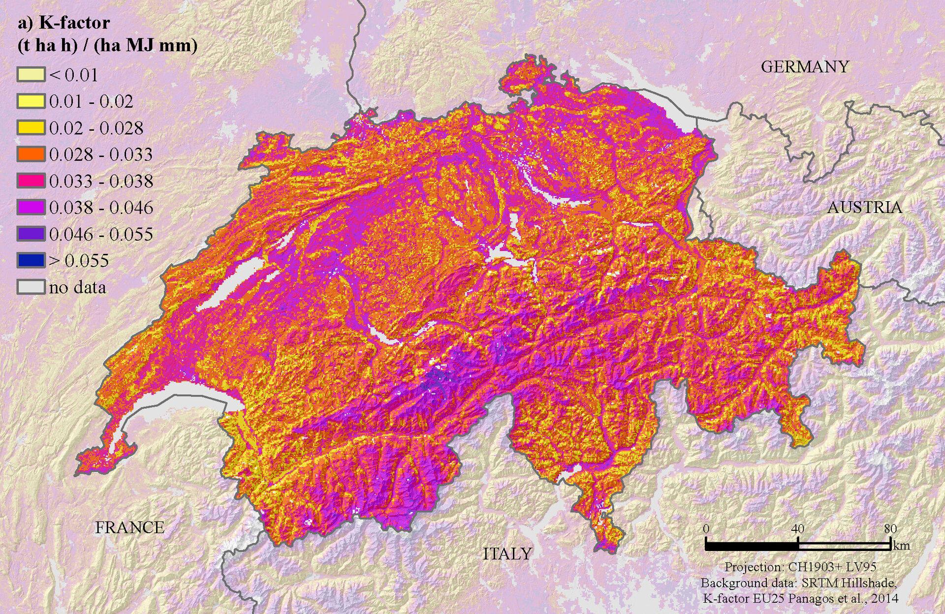 K-Faktor in der Schweiz