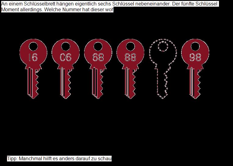 Schlüsselrätsel