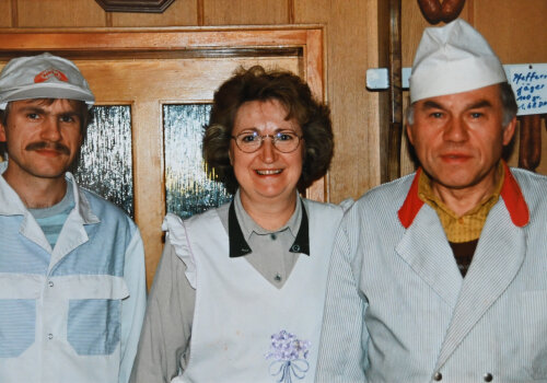 Jeny, Christina und Gunter Albrecht