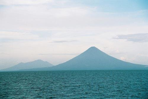 Der Vulkan Concepción auf der Insel Ometepe