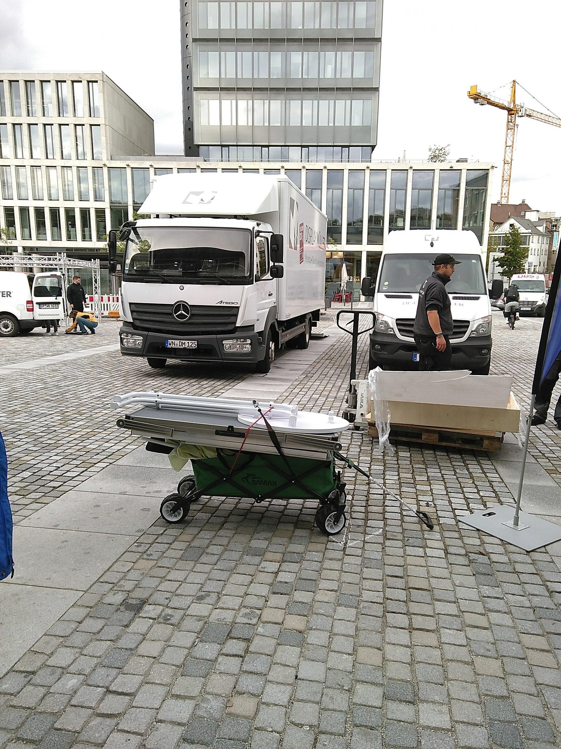 Bollerwagen statt Lastwagen