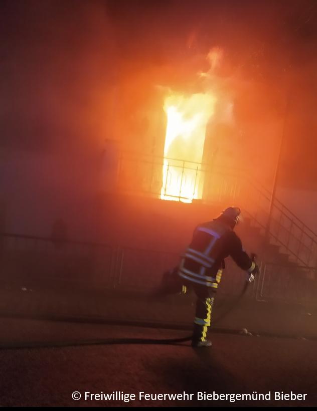 Gebäudebrand Gassen
